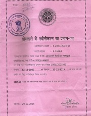 Registration-Certificate